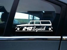 240 Squad sticker - For Volvo 240 245 station wagon | classic car