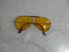 Calvin Klein CK104 2016 Vintage Sunglasses  Yellow Tortoise Avator italy 145