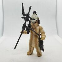 Vintage 1983 Star Wars LOGRAY Ewok Medicine Man Figure Complete All Original