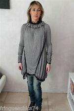 robe tunique cachemire modal HIGH USE taille M  (38-40)  NEUVE S ÉTIQUETTE