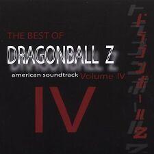 NEW DragonBall Z Best Of Volume 4 (Audio CD)