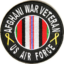 NEW US AIR FORCE AFGHANI WAR VETERAN MILITARY IRON ON PATCH