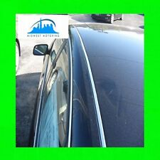 1998-2004 AUDI A6 CHROME ROOF TRIM MOLDINGS 98 99 00 01 02 03 04