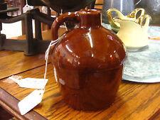 Early 1900s Roycroft Little Brown Pottery Jug Aurora NY