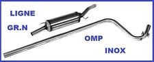 LIGNE ECHAPPEMENT GROUPE N OMP RENAULT SUPER 5 GT TURBO EN INOX
