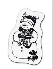 cArt-Us Clear rubber stamp SMALL SNOWMAN - 001883/1095 Reduced