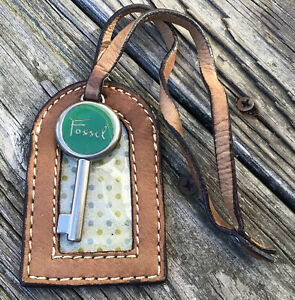 Fossil Replacement Multi-Color Hang Tag Key & ID Tag For Purse