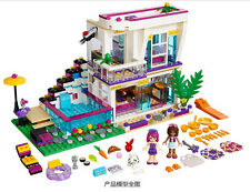Friends Big star Li Wei's home And  Luxury hous fit lego in bag  #10498  619pcs