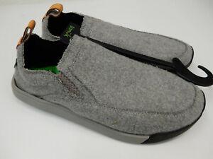 Sanuk Mens Sandals Chiba Quest LX Grey Grey Size 9