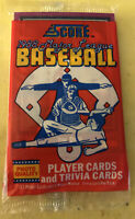 1988 Score Baseball Card Pack Jim Rice Red Sox (Top) Rick Manning Brewers (Back)