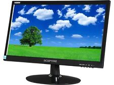 Sceptre E205W1600 20-Inch Widescreen LCD Monitor Black