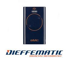 Telecomando radio trasmettitore originale FAAC XT4 433 SL 787015 TML 2 SLR XT