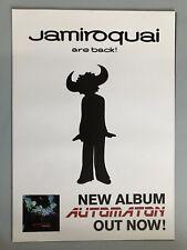 Jamiroquai + promo + 2017 + + Orig. Concert Poster -- CONCERT Affiche NEUF