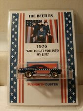 "THE BEATLES ""GOT TO GET YOU BACK IN MY LIFE"" CUSTOM HOTWHEELS!"