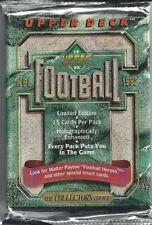 1992 Upper Deck Series 1 NFL Football GRIDRON Cards - Retail Pack
