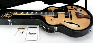 Ibanez George Benson Signature LGB30 Hollowbody Archtop Electric Guitar -Natural
