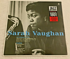 """SARAH VAUGHAN: """"With Clifford Brown"""": NEW 180g VINYL LP REISSUE REMASTERED"""