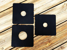 Cambo Lens Board Copal #0,#1,#3 SET 3 pieces 4x5, 5x7,8x10,11x14 LF Center Hole