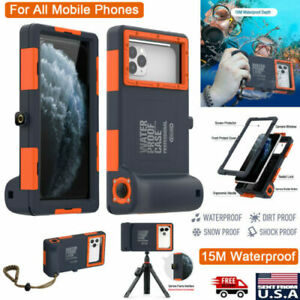 SHELLBOX Waterproof Diving Case Underwater Camera Cover for iPhone 11 XS Samsung