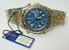 RARE SEIKO 7T32-7D30 SDWS65P1 ALARM CHRONOGRAPH WATCH UNWORN OLD STOCK BOX TAG