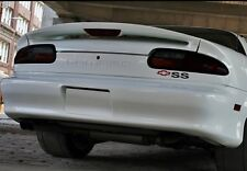 93-02 CAMARO smoked tinted tail light covers vinyl plus rear markers & third