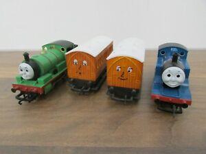 Hornby Thomas the Tank Engine + Percy Running Locomotives + Annie + Clarabel