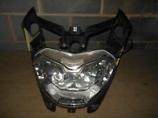 03 Aprilia Atlantic 500 scooter headlight assembly + mount surround frame set