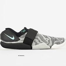 Nike NikeLab Aqua Sock 360 QS Size 8 Black Gray White Zebra Casual Water New