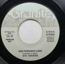 Hear! Country 45 Stu Stevens - God Forsaken Land / Julies Gone On Granite