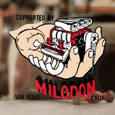 Milodon V8 Aufkleber Sticker Old School Hemi 427 Big Small Block US Car Flathead