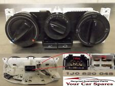 VW Golf Heater Controls with Air Conditioning Mk4