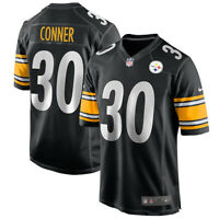 Brand New 2021 NFL Nike Pittsburgh Steelers James Conner #30 Game Edition Jersey