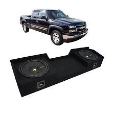 "99-06 Chevy Silverado Ext Cab Truck Kicker CompS CWS12 Dual 12"" Sub Box Package"