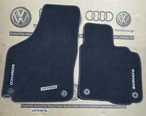 VW Scirocco MK3 R GT GTD GTS Front Carpet Floor Mats Luxury Feet Pads Genuine OE