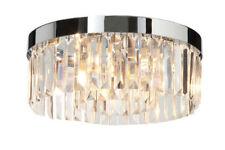 Lampadari da soffitto cromo trasparente