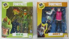 Fortnite Lot 2 Action Figures Rex Drift Xbox Video Game Jazware McFarlane Toys