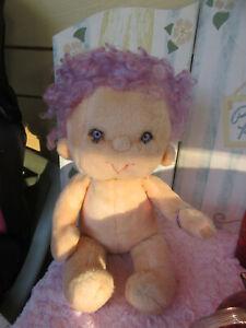 "Vintage 1985 Kenner Purple IMPKINS Hugga Bunch Doll 18"" Plush-Adorable Clean!"