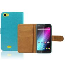 Fundas con tapa color principal azul para teléfonos móviles y PDAs Wiko