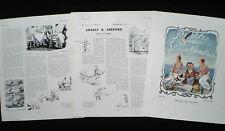 E. H. ERNEST HOWARD SHEPARD ARTIST PAINTER ILLUSTRATOR 3pp ARTICLE 1941