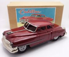 "HUGE 13 1/2""  .... 1949 1950 1951 1952 Cadillac Tin Friction Toy Japan Nomura"
