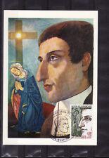 carte  1er jour   Saint Louis Marie Grignion de Monfort 35 Montfort        1974
