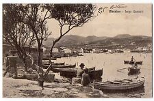 CARTOLINA 1915 MESSINA LAGO GANZIRRI RIF. 10267