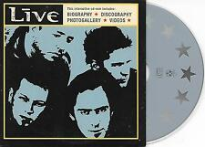 LIVE - Interactive CD-ROM Dutch PROMO Cardsleeve 2001 (RadioActive)