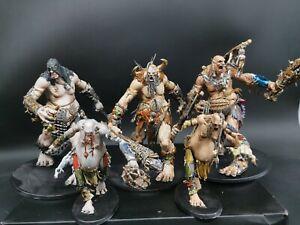 warhammer  gargant mega-gargants x3 gargants x2 army made to order age of sigmar
