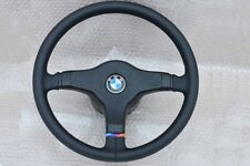 M Technik Technic 1 BMW E30 E24 E34 E28 E32 steering wheel NEW LEATHER  BLACK