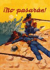 They Shall  not Pass, 1937, Spanish Civil War Propaganda Poster