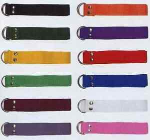 New Martin Single (1) Football Pant Nylon Belts Many Colors, One Size Fits All