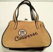 CONVERSE SUEDE BAG Vintage RARE Cursive Logo  1974-5 Sport Bowling