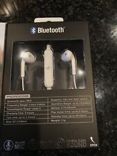 iHip Wireless Bluetooth App 2 Earbuds with In Line Microphone