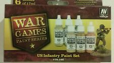 Vallejo acrylic paint, US infantry paint set